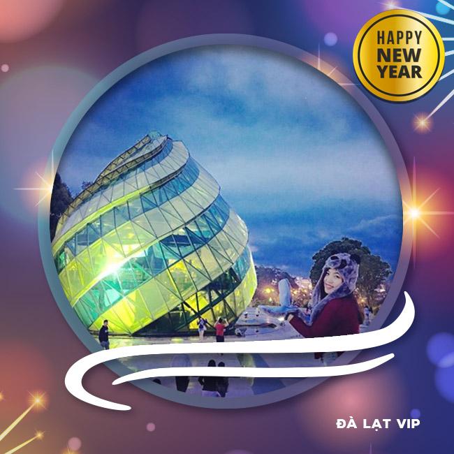 Tour Đà Lạt VIP, Festival Hoa, Buffte Rau, Tết Tây 2018 3N3Đ