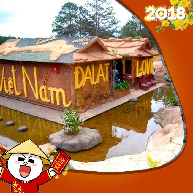 Tour Đà Lạt, Đường Hầm Đất Sét, Tết Âm Lịch 4N3Đ