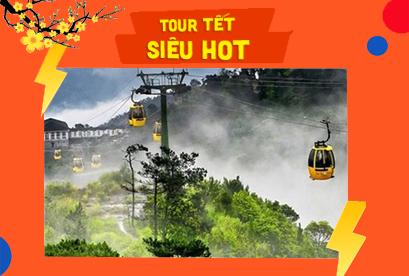 Tour Đà Nẵng Tết Âm Lịch Khám Phá Hội An, Bà Nà, Huế, Phong Nha 5N4D