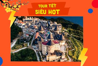 Tour Đà Nẵng Tết Âm Lịch, Ngũ Hành Sơn, Hội An, Bà Nà, Sơn Trà, Tắm Bùn Galina 3N2D