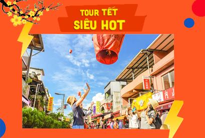 Tour Đài Loan Tết Âm Lịch Đài Bắc – Đài Trung – Cao Hùng