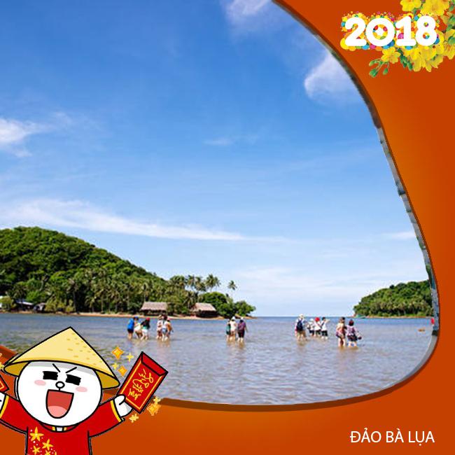 Tour Đảo Bà Lụa, Rừng Tràm Trà Sư Tết Âm Lịch  2N2Đ