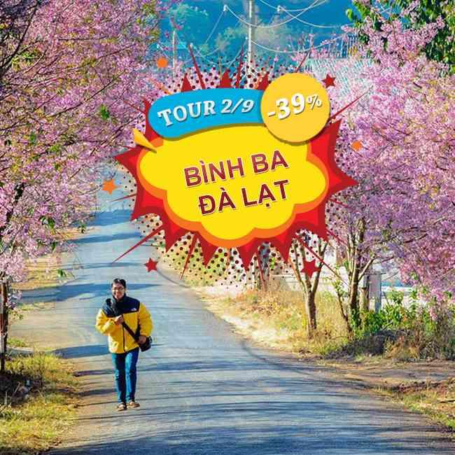 Tour Đảo Bình Ba , Đà Lạt   BBQ Hải Sản  Lễ 2 Tháng 9 3N3Đ