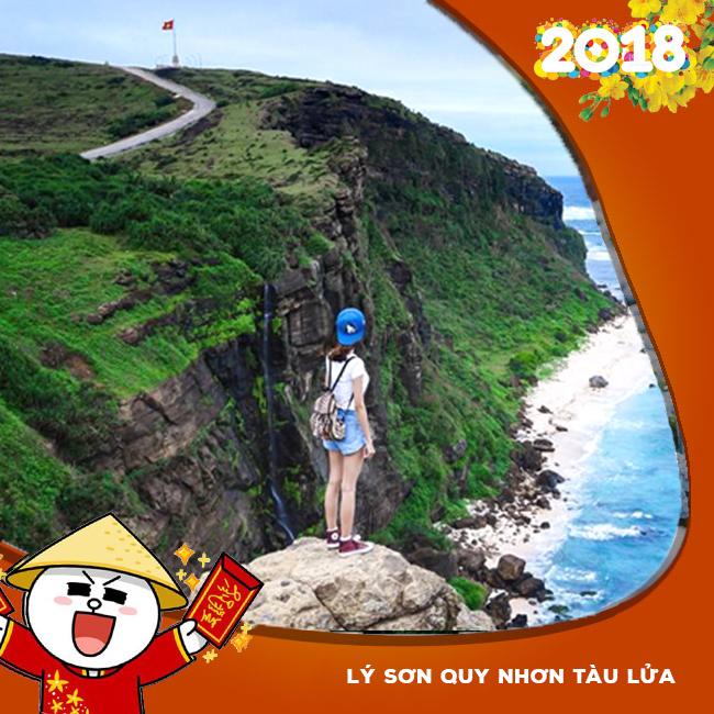Tour Đảo Lý Sơn, Quy Nhơn , Tàu Lửa, Tết Âm Lịch 2018 3N4Đ