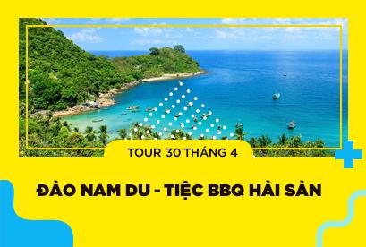 Tour Đảo Nam Du 30/4,Tiệc BBQ Hải Sản, Bar Biển Và Thưởng Thức Cháo Nhum