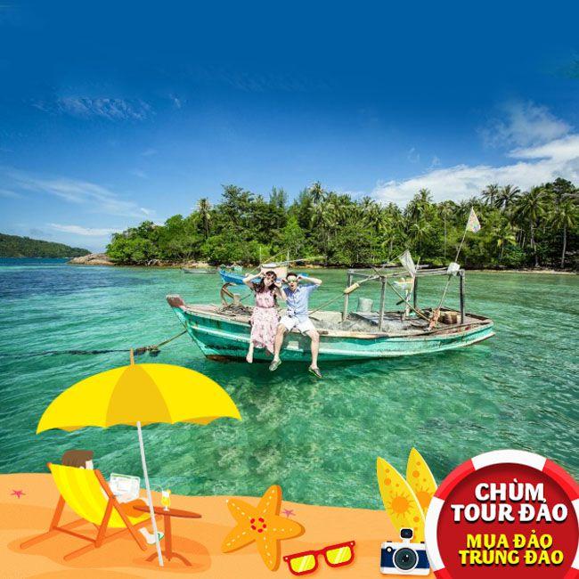 Tour Đảo Nam Du , Hạ Long Phương Nam 2N2Đ