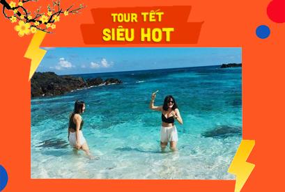 Tour Đảo Điệp Sơn Nha Trang Tết Âm Lịch, con đường dưới biển, KDL Hòn Chồng