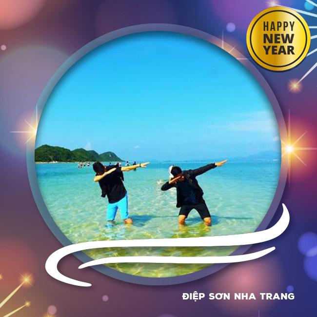 Tour Điệp Sơn Nha Trang, Hòn Chồng Tết Tây 2018 3N3Đ
