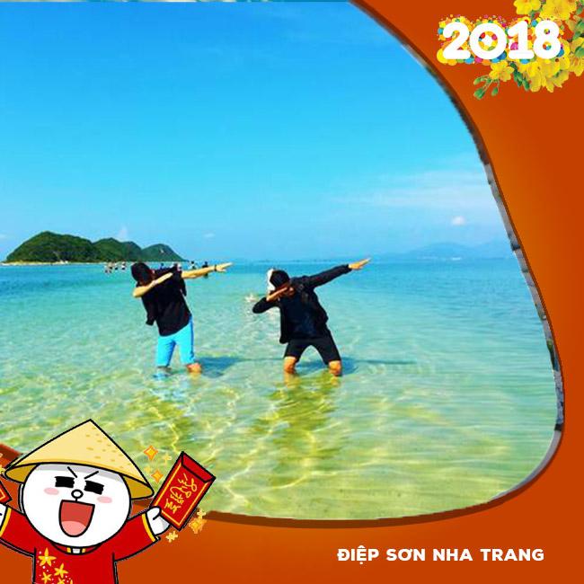 Tour Điệp Sơn Nha Trang, Hòn Chồng Tết  Âm Lịch 2018 3N3Đ