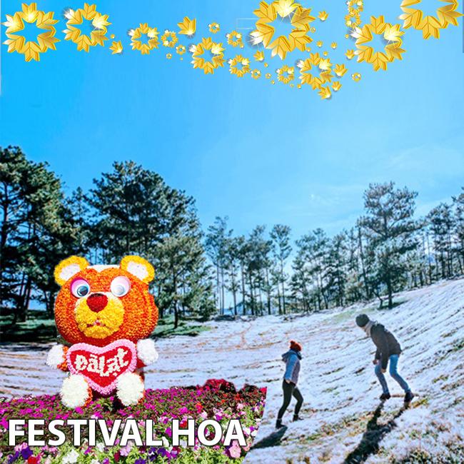 Tour du lịch Nha Trang - Đà Lạt Festival Hoa 4N4Đ