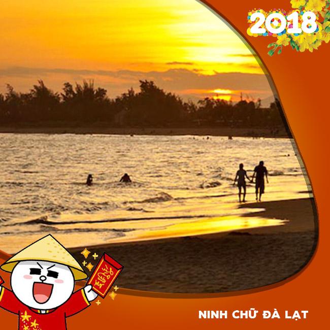 Tour du lịch Ninh Chữ, Đà Lạt Tết Âm Lịch 2018 4N4Đ