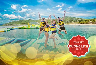 Tour du lich Đảo Bình Ba Nha Trang Tết Dương Lich, Biển Dốc Lếch