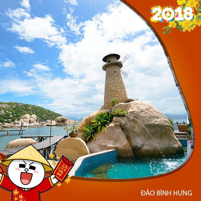 Tour du lịch Đảo Bình Hưng, Ninh Chữ Tết Âm Lịch 2N2Đ
