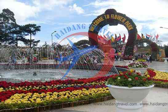 Vườn Hoa Thành Phố