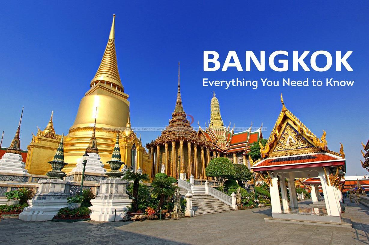 khái quát về Bangkok. Các điểm đặc sắc thu hút khách du lich.
