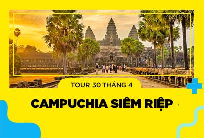 Tour Campuchia Siêm Riệp 30/4 Angkor Wat Phnom Penh, Kì Quan Thế Giới Angkorwat, Ta Phrum