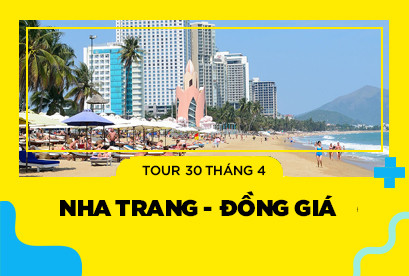 Tour Nha Trang - Đồng giá 30/4