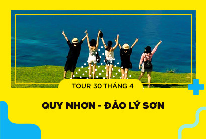 Tour Quy Nhơn Lý Sơn 30/4, Khám Phá Eo Gió, Đảo Kỳ Co, Vương Quốc Tỏi