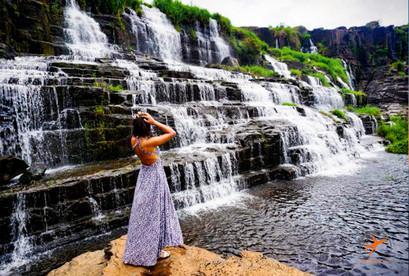 Tour du lịch Đà Lạt con đường tơ lụa, Bàn Tay Phật, Thác Pongour, Thác Pongour
