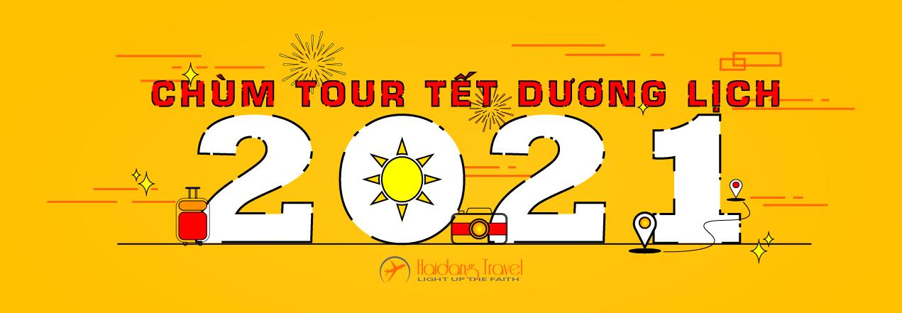Banner Chùm Tour Tết 2021