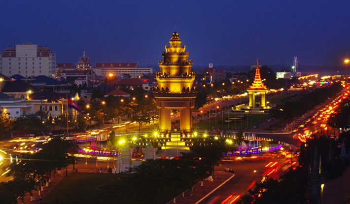 Tour Cambodia Du Ngoạn 3 Đảo, Biển Sihanoukville, Cao Nguyên Bokor, Phnompenh