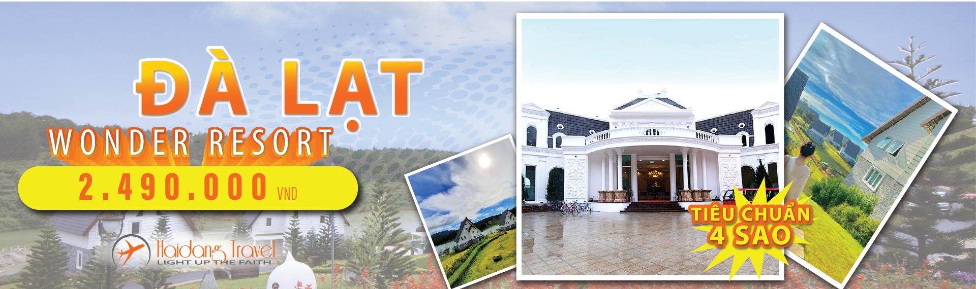 Tour Đà Lạt - wonder resort